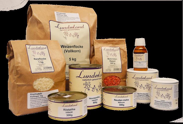 Lunderland koiranruoka
